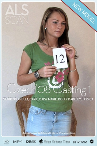 Anella & Carie & Daisy Marie & Dolly Darkley & Jassica & Kimbra & Mellie & Nataly & Paris Diamond & Sandra Sanchez & Tina - `Czech'08 Casting 1` - for ALS SCAN