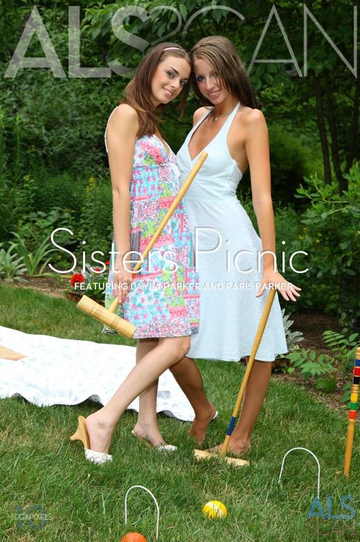 Layla Parker & Paris Parker - `Sisters Picnic` - for ALS SCAN