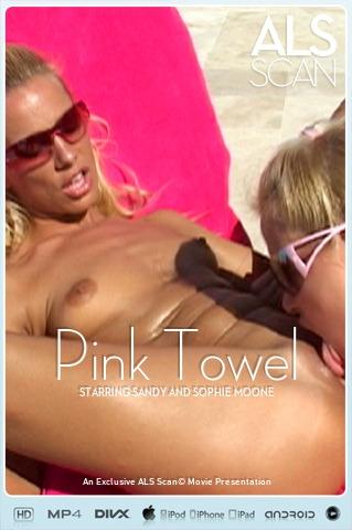 Sandy & Sophie Moone - `Pink Towel` - for ALS SCAN