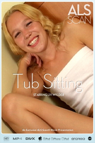 Liv Wylder - `Tub Sitting` - for ALS SCAN