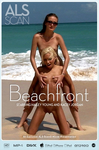 Hailey Young & Kacey Jordan - `Beachfront` - for ALS SCAN