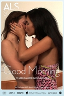 Amber Rayne & Nella in Good Morning video from ALS SCAN