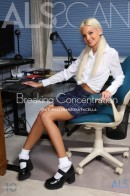 Franziska Facella in Breaking Concentration gallery from ALS SCAN