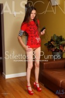 Ashley & Leighlani Red in Stilettos & Pumps gallery from ALS SCAN
