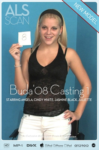 Angela & Cindy White & Jasmine Black & Juliette Shyn & Regina Ice - `Buda'08 Casting 1` - for ALS SCAN