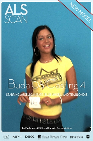 Angelica Heart & Blue Angel & Cassye & Jennifer Love & Madison Parker & Tea Blondie - `Buda'08 Casting 4` - for ALS SCAN