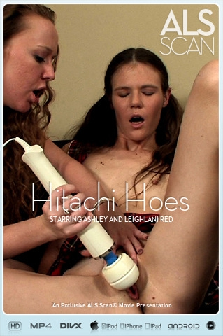 Ashley & Leighlani Red - `Hitachi Hoes` - for ALS SCAN