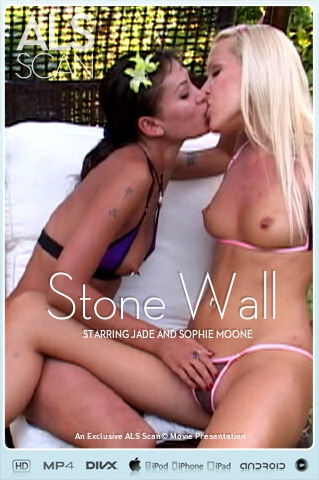 Jade & Sophie Moone - `Stone Wall` - for ALS SCAN