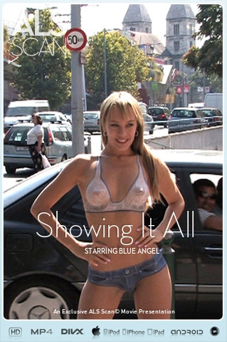 Blue Angel - `Showing It All` - for ALS SCAN