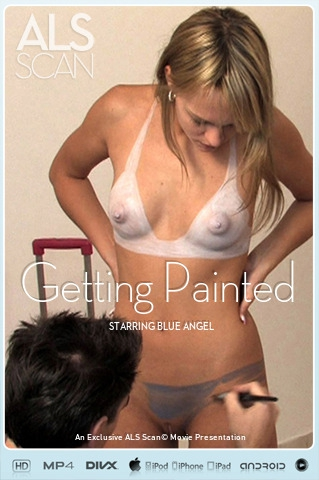 Blue Angel - `Getting Painted` - for ALS SCAN