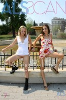 Faye Runaway & Isabella Sky in Flashing Baltimore gallery from ALS SCAN