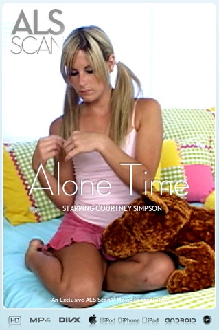 Courtney Simpson - `Alone Time` - for ALS SCAN