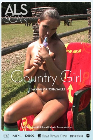 Viktoria Sweet - `Country Girl` - for ALS SCAN