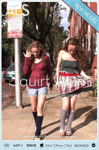 Leighlani Red & Tabitha - `Squirt Cum` - for ALS SCAN