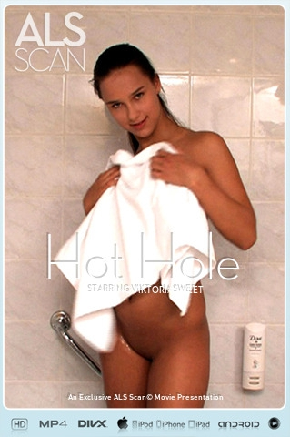Viktoria Sweet - `Hot Hole` - for ALS SCAN