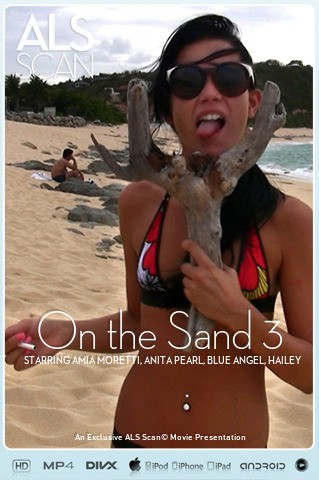 Amia Moretti & Anita Pearl & Blue Angel & Hailey Young & Jana Foxy & Tanner Mayes - `On the Sand 3` - for ALS SCAN