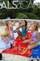 Amia Moretti & Blue Angel & Hailey Young - Punch Drunk Love