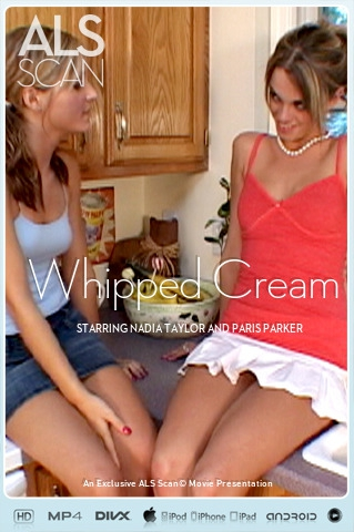 Nadia Taylor & Paris Parker - `Whipped Cream` - for ALS SCAN