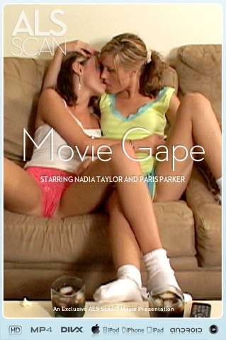 Nadia Taylor & Paris Parker - `Movie Gape` - for ALS SCAN