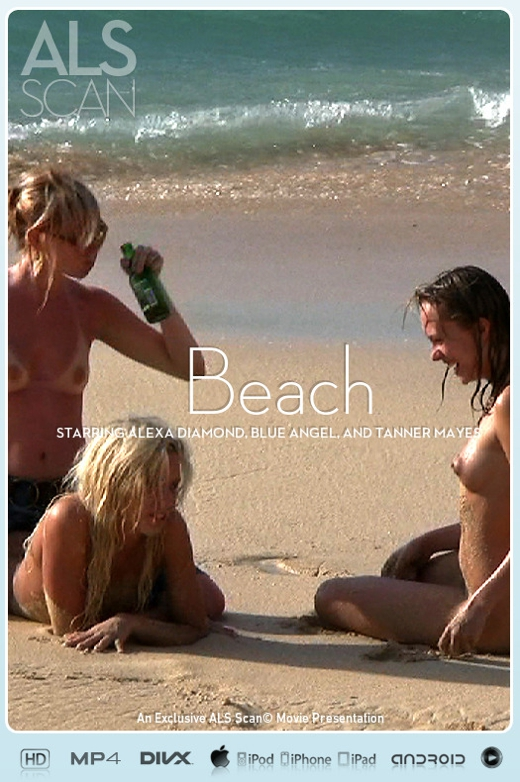 Alexa Diamond & Blue Angel & Brea Bennett & Kacey Jordan & Sasha Rose & Tanner Mayes - `Beach` - for ALS SCAN