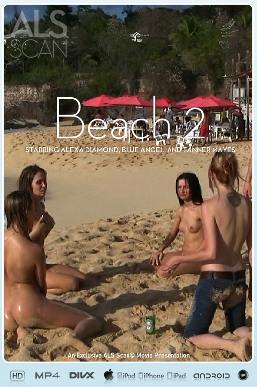 Alexa Diamond & Blue Angel & Brea Bennett & Kacey Jordan & Sasha Rose & Tanner Mayes - `Beach 2` - for ALS SCAN