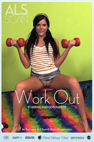Madison Parker - `Work Out` - for ALS SCAN
