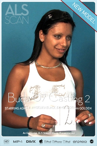Agnes A & Angelika Black & Bambi & Dorina Golden & Jennifer & Kissy & Kyra Black & Lilly Cross & Lucie Lee & Timea - `Buda '07 Casting 2` - for ALS SCAN