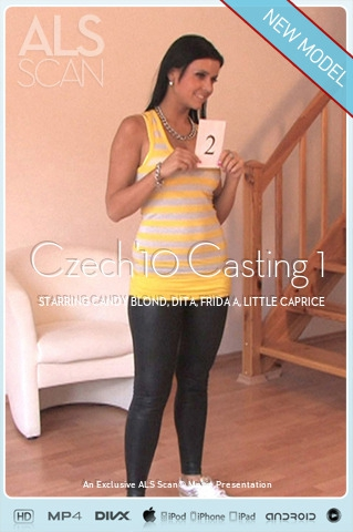 Candy Blond & Dita & Frida A & Little Caprice & Marketa - `Czech'10 Casting 1` - for ALS SCAN