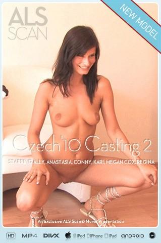 Ally & Anastasia & Conny & Kari & Megan Cox & Regina - `Czech'10 Casting 2` - for ALS SCAN