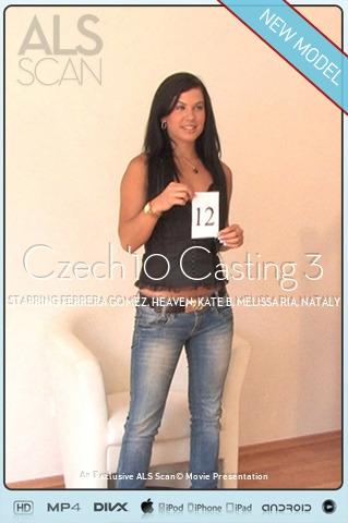 Ferrera Gomez & Heaven & Kate B & Melissa Ria & Nataly & Rihanna Samuel - `Czech'10 Casting 3` - for ALS SCAN