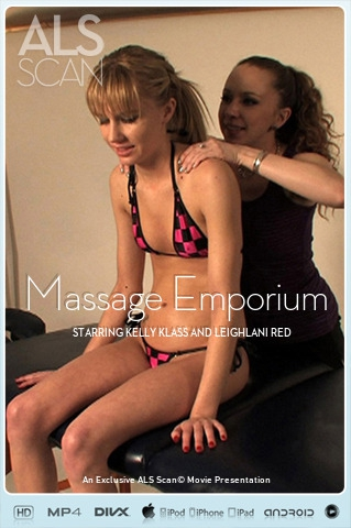 Kelly Klass & Leighlani Red - `Massage Emporium` - for ALS SCAN