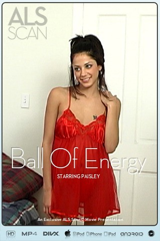 Paisley - `Ball Of Energy` - for ALS SCAN