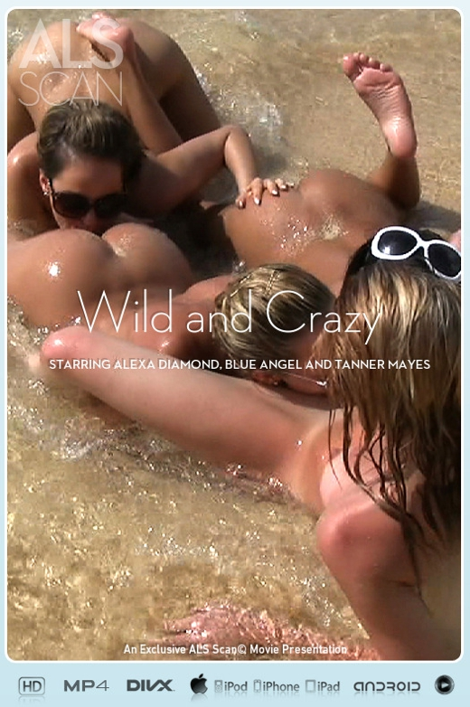 Alexa Diamond & Blue Angel & Brea Bennett & Kacey Jordan & Sasha Rose & Tanner Mayes - `Wild and Crazy` - for ALS SCAN