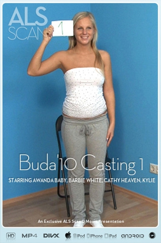 Awanda Baby & Barbie White & Cathy Heaven & Kylie Roc & Marilyn & Safina White & Yvette - `Buda'10 Casting 1` - for ALS SCAN