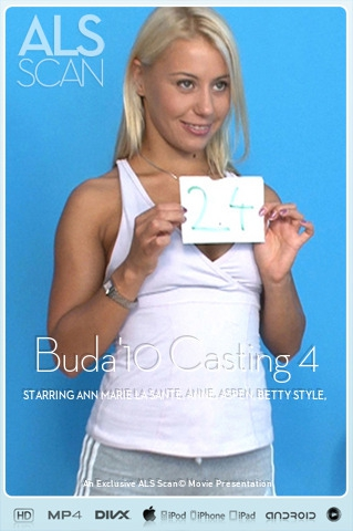 Ann Marie La Sante & Anne & Aspen & Betty Style & Natalia Forrest & Nikky Thorne & Samantha - `Buda'10 Casting 4` - for ALS SCAN