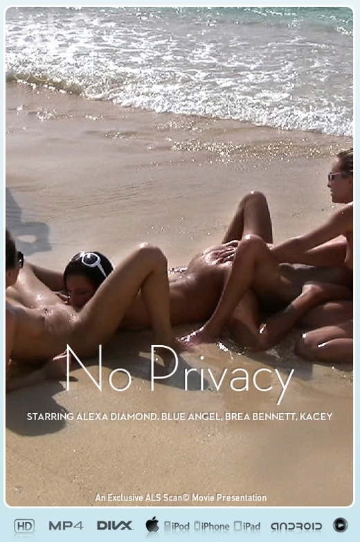 Alexa Diamond & Blue Angel & Brea Bennett & Kacey Jordan & Sasha Rose & Tanner Mayes - `No Privacy` - for ALS SCAN