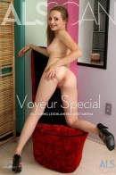 Leighlani Red & Tabitha in Voyeur Special gallery from ALS SCAN