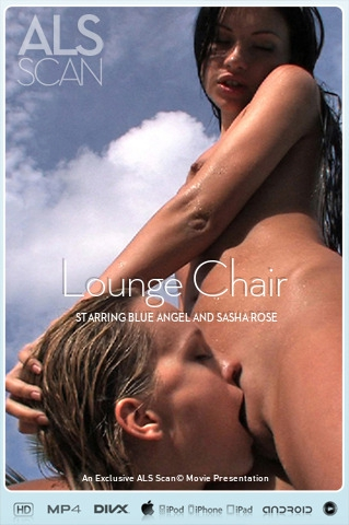 Blue Angel & Sasha Rose - `Lounge Chair` - for ALS SCAN