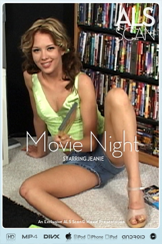 Jeanie - `Movie Night` - for ALS SCAN