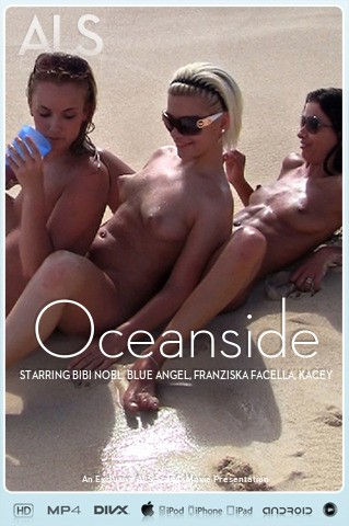 Bibi Noel & Blue Angel & Franziska Facella & Kacey Jordan & Sara Jaymes & Shalina Devine - `Oceanside` - for ALS SCAN