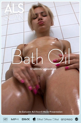 Sasha Rose - `Bath Oil` - for ALS SCAN
