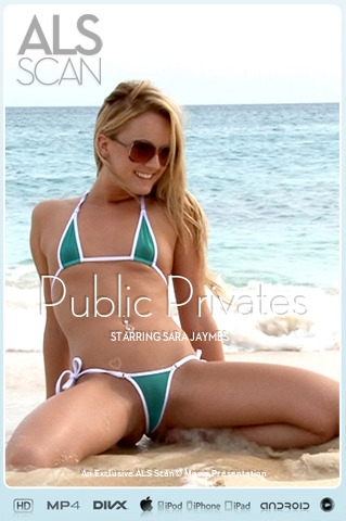 Sara Jaymes - `Public Privates` - for ALS SCAN