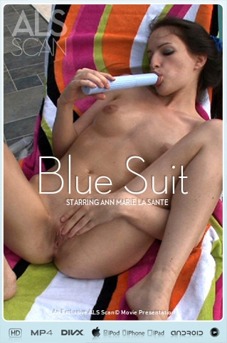 Ann Marie La Sante - `Blue Suit` - for ALS SCAN