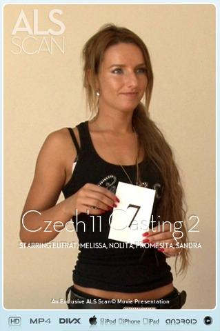 Eufrat & Melissa & Nolita & Promesita & Sandra Sanchez & Silvie Delux - `Czech'11 Casting 2` - for ALS SCAN