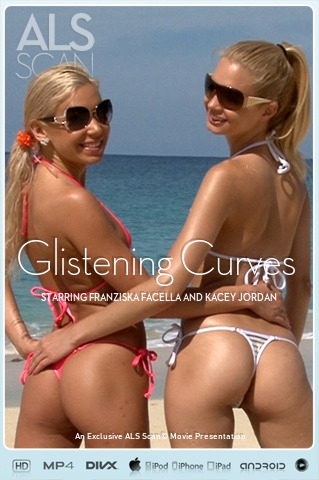 Franziska Facella & Kacey Jordan - `Glistening Curves` - for ALS SCAN