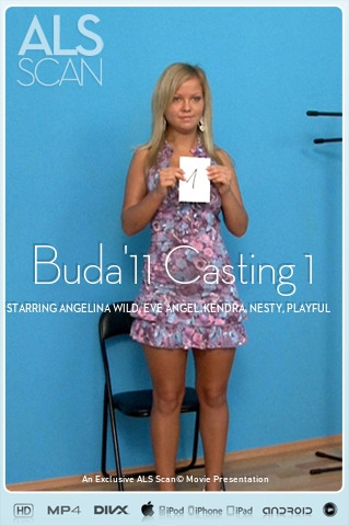 Angelina Wild & Eve Angel & Kendra & Nesty & Playful Anne & Sunny Diamond & Tiana - `Buda'11 Casting 1` - for ALS SCAN