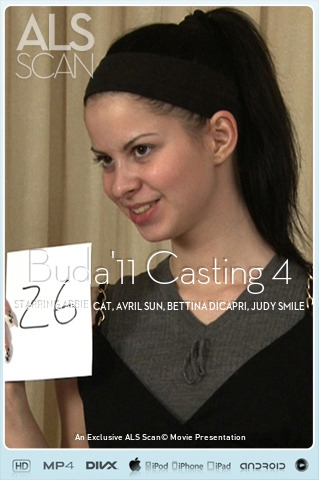 Abbie Cat & Avril Sun & Bettina DiCapri & Judy Smile & Mira & Victoria Tiffani - `Buda'11 Casting 4` - for ALS SCAN