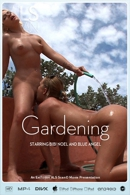 Bibi Noel & Blue Angel - Gardening
