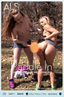 Amy Brooke & Leighlani Red in Paddle In video from ALS SCAN
