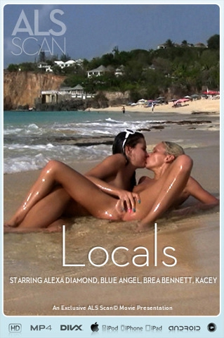 Alexa Diamond & Blue Angel & Brea Bennett & Kacey Jordan & Sasha Rose & Tanner Mayes - `Locals` - for ALS SCAN